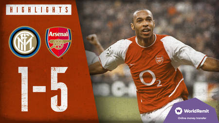 Arsenal Classics: 5-1 v Inter Milan, 2003